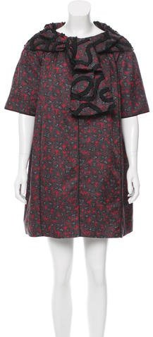 Marc Jacobs Marc Jacobs Belted Abstract Dress w/ Tags