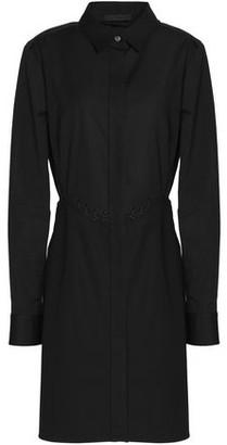 Alexander Wang Lace-up Cotton Mini Shirt Dress