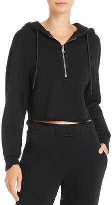 Cotton Citizen Brooklyn Cropped Hooded Sweatshirt