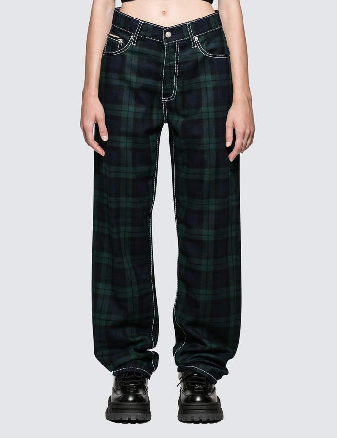 Benz Tartan Jeans
