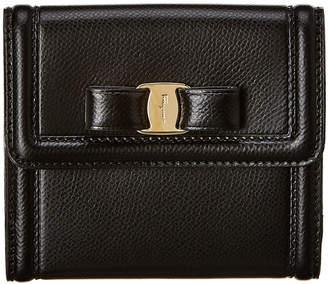 Salvatore Ferragamo Vara Small Leather Wallet