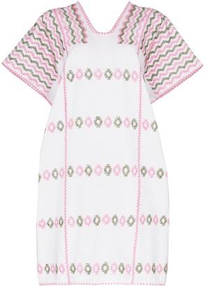 Pippa Holt embroidered kaftan dress