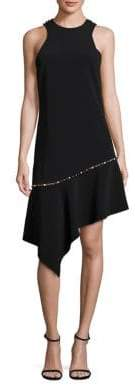 Jonathan Simkhai Beaded Asymmetrical Dress