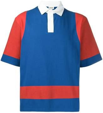 Phipps colour block polo shirt