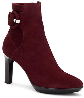 Aquatalia Rachele High-Heel Suede Booties