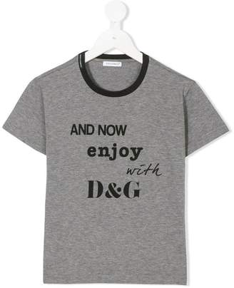 Dolce & Gabbana printed short-sleeved T-shirt