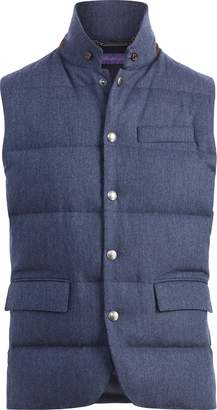 Ralph Lauren Quilted Wool Down Vest