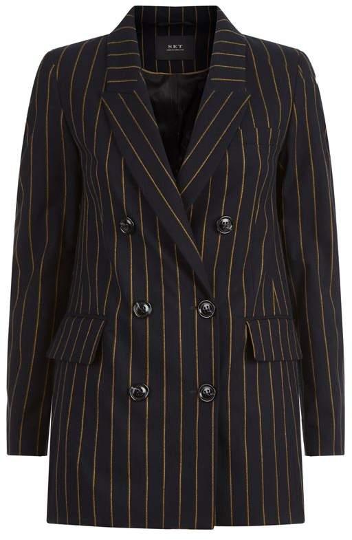 Fine Striped Blazer