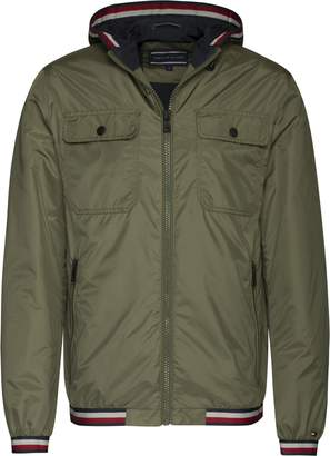 Tommy Hilfiger Men's Hooded Tape Jacket