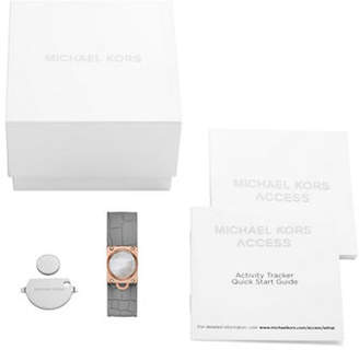 Michael Kors Access Reade Rose Goldtone Activity Tracker