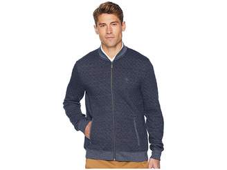 Original Penguin Long Sleeve Quilted Jasper Full Zip Track Jacket