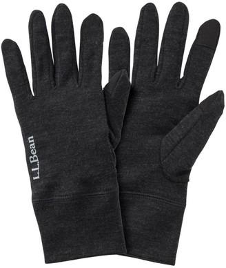 L.L. Bean L.L.Bean Men's Cresta Wool 250 Liner Gloves
