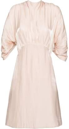 Prada short charmeuse dress