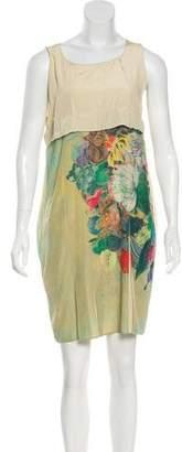Cotélac Sleeveless Printed Dress