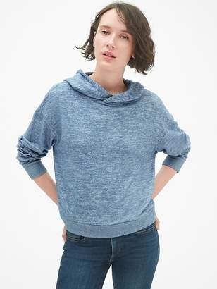 Gap Softspun Crop Pullover Hoodie