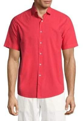 Vilebrequin Short Sleeve Cotton Shirt