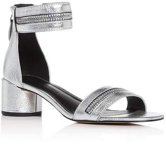 Rebecca Minkoff Women's Ortenne Block-Heel Sandals