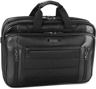 "Kenneth Cole Reaction An Easy Decision"" Double Gusset Checkpoint Friendly Laptop Brief"