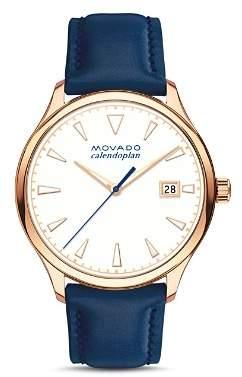 Movado Heritage Calendoplan Watch, 36mm