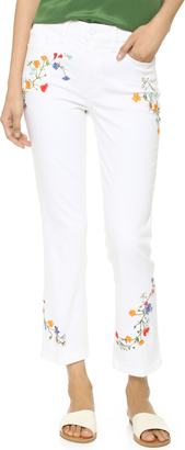Tory Burch Carson Cropped Jeans $250 thestylecure.com