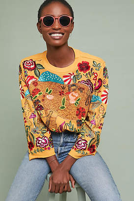 Ugly Girl Beaded Elephant Pullover