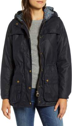 Barbour x Liberty Blaise Hooded Waxed Jacket