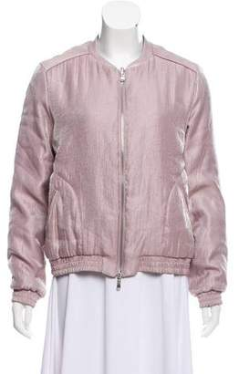 Intermix Cassian Shimmer Bomber Jacket w/ Tags