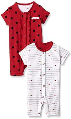 Mothercare Little Ladybird Rompers - 2 Pack,(Manufacturer Size:56)