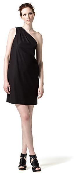 Vince One-Shoulder Dress