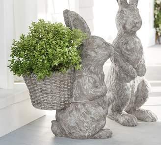 Pottery Barn Indoor/Outdoor Bunny Planter