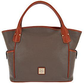 Dooney & Bourke Pebbled Leather Kristen Tote Bag $296 thestylecure.com