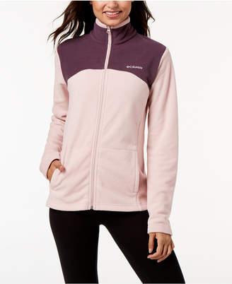 Columbia Western Ridge Colorblock Fleece Jacket