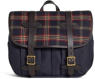 Brooks Brothers Exclusive for Filson Tartan and Canvas Messenger