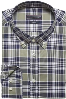 Tommy Hilfiger Plaid Slim Fit Shirt