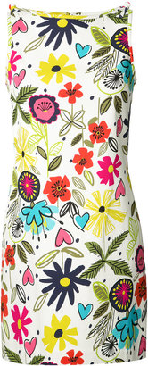 Trina Turk floral print shift dress $300 thestylecure.com