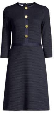 Escada Sport Textured A-Line Dress