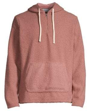 Ovadia & Sons Ovadia& Sons Ovadia& Sons Men's Core Hoodie - Rose - Size Small