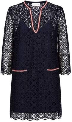 Sandro Lace Shift Dress