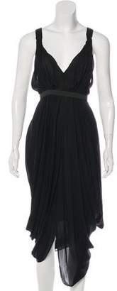 A.L.C. Silk Sleeveless Midi Dress