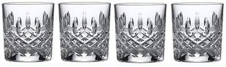 Royal Doulton Set Of 4 Lead Crystal 'Highclere' Tumblers