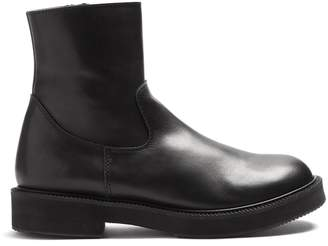 Junya Watanabe Smooth-leather ankle boots