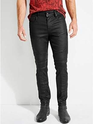 GUESS Men's Skinny Free Form Moto Jean