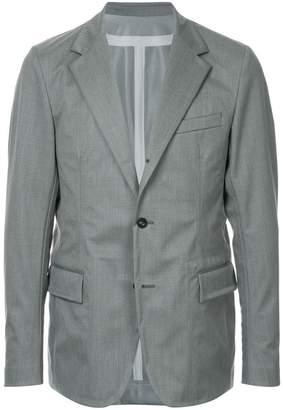Sacai casual single-breasted blazer