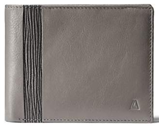 Leather Architect Men's 100% Leather RFID Blocking Bifold Wallet with Back Zip and 8 Credit Card Slots