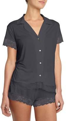 Eberjey Noor Short Pajama 2-Piece Set