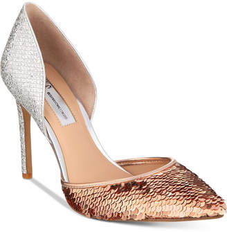 INC International Concepts I.n.c. Women's Koree d'Orsay Pointed Toe Pumps, Created for Macy's Women's Shoes