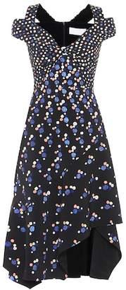 Peter Pilotto Cold-shoulder cady midi dress