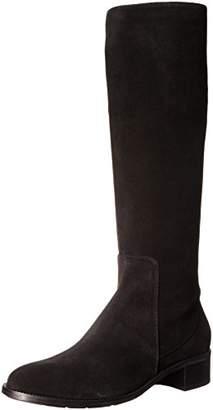 Aquatalia Women's Olinda Suede Riding Boot $495 thestylecure.com