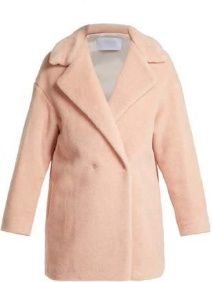 Harris Wharf London Alpaca-blend double-breasted coat