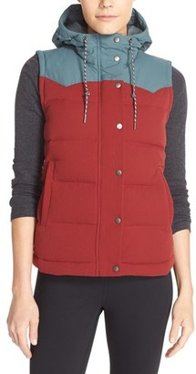 Women's Patagonia 'Bivy' Water Repellent 600 Fill Power Down Vest $179 thestylecure.com